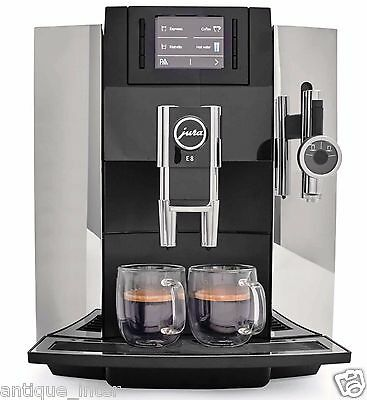 Brand New!! Jura E8 Chrome- Aroma G3 #15084 Espresso Machine