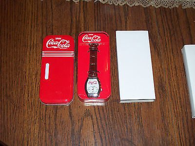 Coca Cola Coke collectable wrist watch with tin from 2009/10