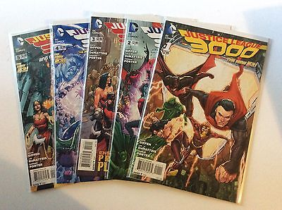 Justice League 3000 Issues #1-5