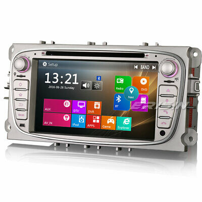 Car Stereo GPS SAT NAV 3G DVD DTV-IN For FORD FOCUS C/S-MAX MONDEO GALAXY 7189EN