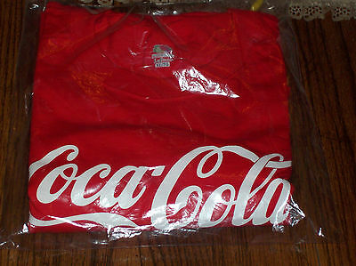 Coca Cola T Shirt mens xl red new in sealed bag
