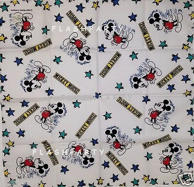 Mickey Mouse w/STARS Handkerchief SCARF