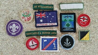 Assorted Scouting Badges