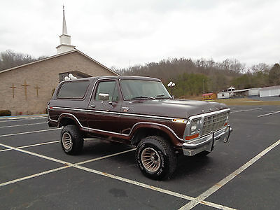 1979 Ford Bronco xlt ranger 1979 ford bronco XLT Daily driver Florida truck clean 4x4 brown in color