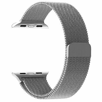 Apple Watch Band Penom Fully Magnetic Closure Clasp Mesh Loop Milanese 42mm New