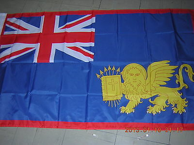 Reproduced British Empire Flag 1815-1864 Ionian Isles Greece Ensign, 3ftX5ft,