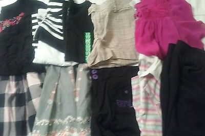 Bulk Girls size 12-14 Clothes. Tops, Skirts, Shorts. 10 Items!