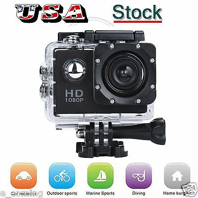 Waterproof SJ5000 12MP Ultra HD 1080P Sports Action Camcorder DV Camera Car Cam