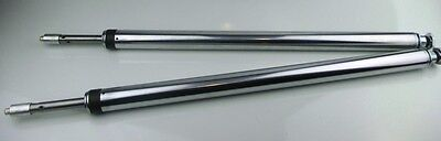 """Fork Tube Assembly 41mm Std (24-1/4"""") Hard Chrome with all Internals - Pair"""