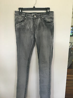 Miss Shop Jeans size 10 Charcoal and Grey