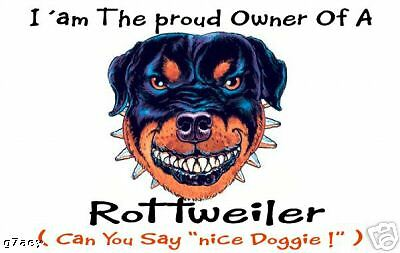 Rottweiler  Design Pair Car Side Window Sun Shades