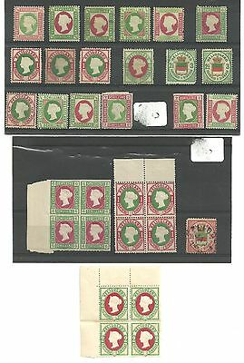 Mint Heligoland stamps PLUS 1.