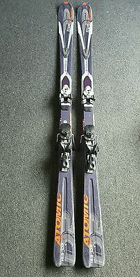 Atomic skis 169cm DR7 (with bag and poles)