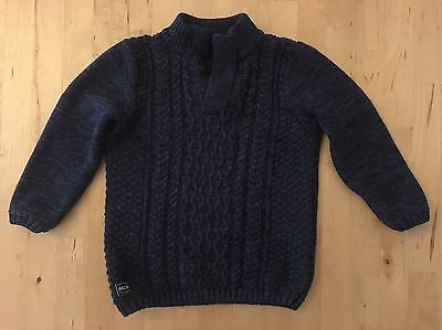 Blue Industrie / Indie Kids Cotton Jumper Size 2 - Excellent Used Condition