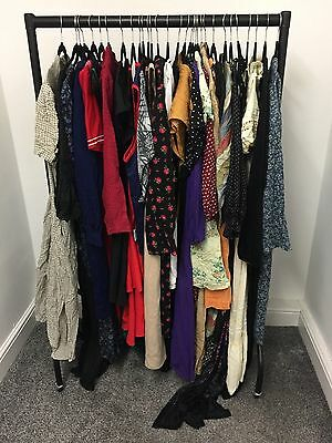 Lot A Job Lot of 30 Items Ladies Vintage Retro 70's 80's 90's Clothing Dresses