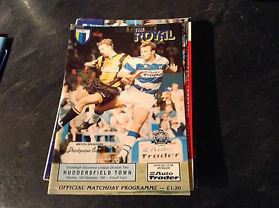 Reading V Huddersfield Town 18/12/93