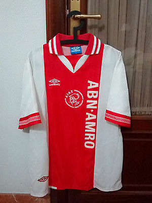 AJAX, Official VINTAGE Player Issue home shirt, 1994-95 season