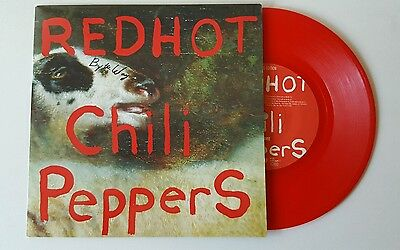 """Red hot chili peppers 7"""" By the Way limited edition red vinyl"""
