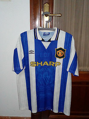 MANCHESTER UNITED, Official VINTAGE third shirt, 1994-96 seasons