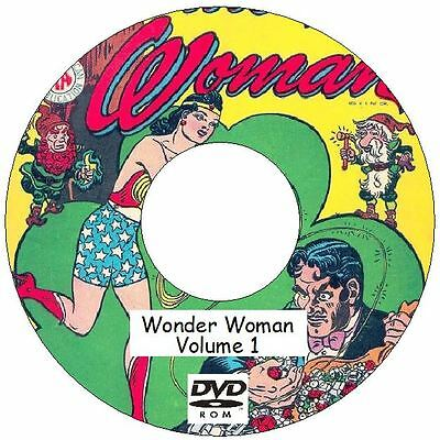 Wonder Woman Volume 1 326 Issues on 2 DVDs plus extras 1942 - 1986