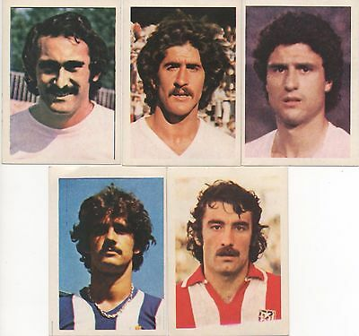 "Lot 5 vignettes FOOTBALL BENJAMIN  ""COUPE D'EUROPE 1980""  ESPAGNE"
