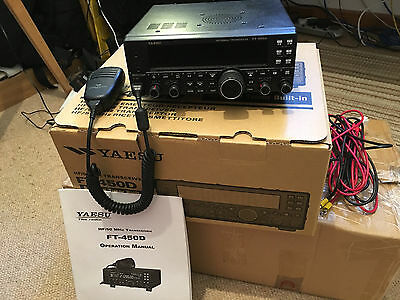 Yaesu FT 450D in mint condition with warranty!