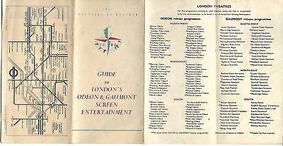 1951 Festival of Britain - Guide to London's Odeon & Gaumont Screen Entertainmnt