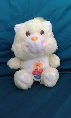 "Vintage 1983 Care Bear Birthday Bear, Approx 7"" (Small)"