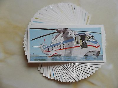 F/S 24 cards Lyons Tea Wings Across the World.Issued in 1961.Cat.Val.£4.
