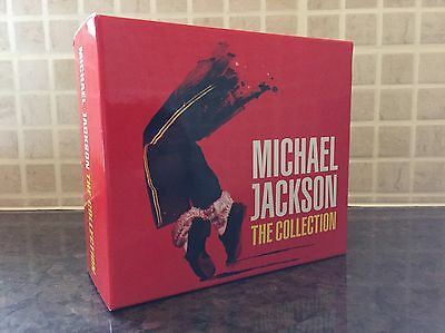 Michael Jackson The Collection Rare Sony Japan Mail Order Box Set
