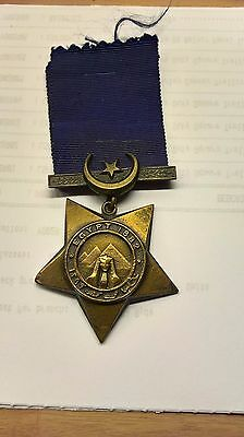 1882 Khedives Star Coldstream Guards Medal George Ansell 4695