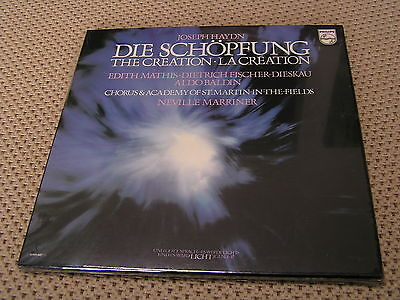 RARE NEW FACTORY SEALED - BOX SET LP's - HAYDN - THE CREATION - PHILIPS 6769 047