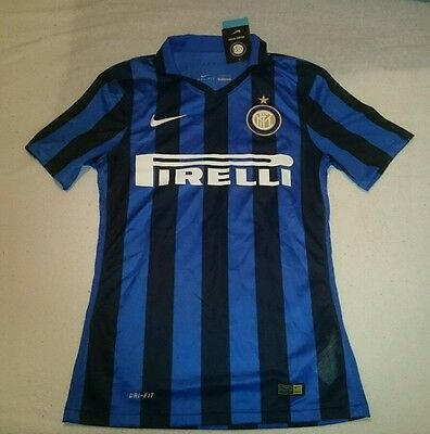 Nike Inter Milan Player issue Home Shirt Jersey Small 2015-2016 Maglia BNWT
