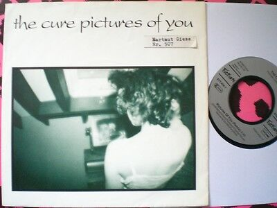 Punk - The Cure - Pictures Of You - Picture Cover - German Import