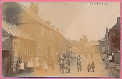 Good RP postcard of Barlestone, Leicestershire (with Post Office), PU1908