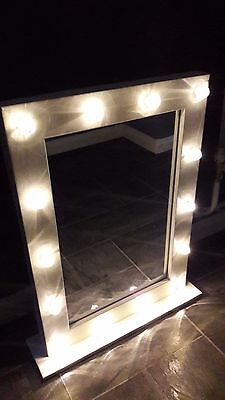 Hollywood style LED light up Vanity/Dressing table mirror. Brand New
