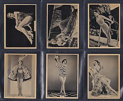 British American Tobacco, Grace And Beauty (46-90) Set Of 45 Issued In 1939.