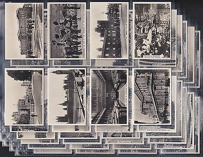 """Pattreiouex Ltd., Sights Of London, First Series Of 48 Issued In 1935. """"vg/exc"""""""