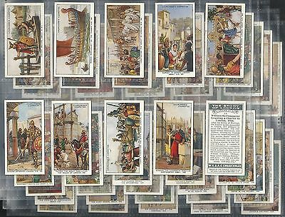 """Churchman - The Story Of London, Set Of 50, Issued In 1934 """" A Nice Set"""""""