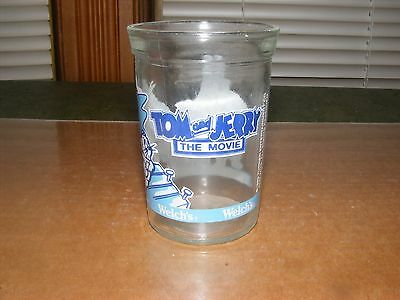 """1993 Welch's Glass """"TOM and JERRY the Movie"""" VG Graphics"""