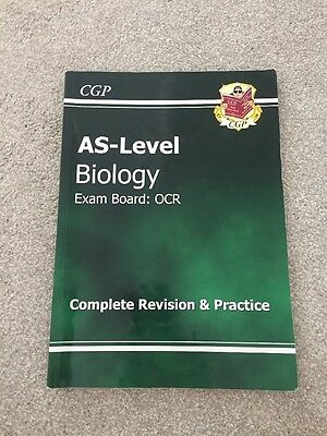 AS Level OCR Biology - CGP Revision Guide - RRP £10.99