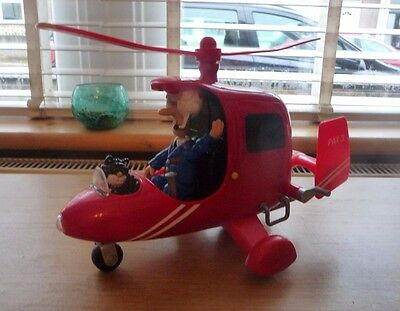 Postman Pat Sds Deluxe Electronic Helicopter Toy With Lights And Sounds L@@k