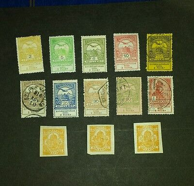 Hungary stamps mint & used 1913