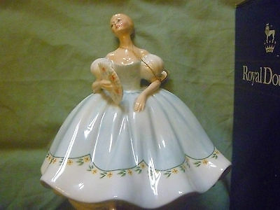 """Royal Doulton   """" First Dance """"  Made In England"""