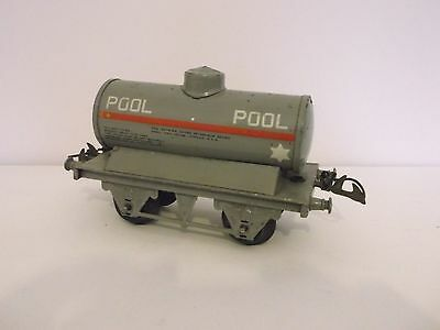 HORNBY O gauge W17a No. 1 petrol tank wagon POOL - unboxed