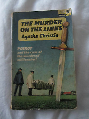 """Book: Agatha Christie """"The Murder on the Links"""" (1964 edition)"""
