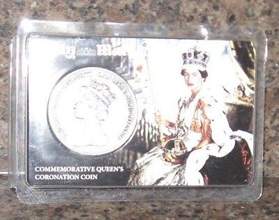 Commemorative Queens Coronation Coin-Daily Mail