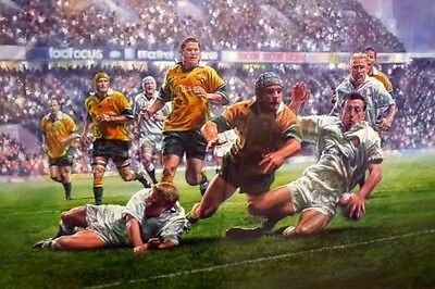 Peter Cornwall England v Australia 2000 Rugby Twist in the Tale Dan Luger