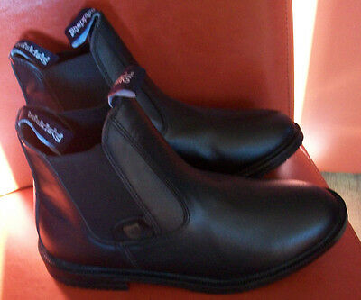 Sherwood Forest black  jodphur boots size 8 new with box
