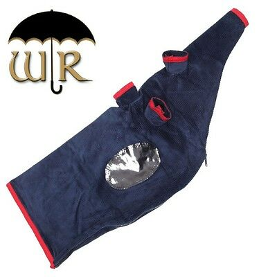 RG Hardie Weather Resistant Navy Pipe Bag Cover Highland Bagpipes